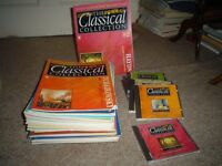 The Classical Collection series of 82 magazines with accompanying Cd's