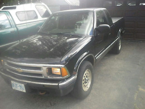 1995 Chevrolet S-10 LS Pickup Truck-motorcycle trades considered