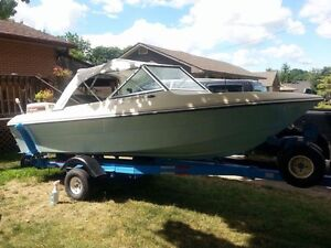 1982 Attwood Runabout & Trailer