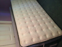 Single box spring and mattress