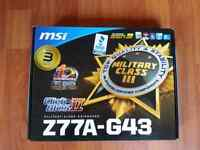 MSI Motherboard brand new... need gone