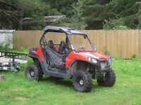 Polaris Side by Side and Trailer for sale
