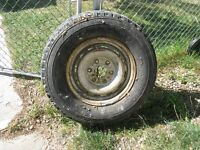 Rim and tire from 92 chev/gmc