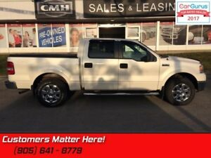 2007 Ford F-150 Lariat  4x4, SUPERCREW, LEATHER, SUNROOF, HEATED
