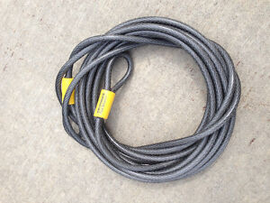 KRYPTONITE 30' SECURITY CABLE.