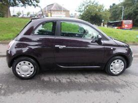 Fiat 500 POP++£30 ROAD TAX++ (purple) 2013