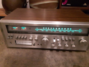Sears RE-1205 AM/FM Receiver (it works/8-tracks)