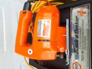 Black & Decker jig saw kit