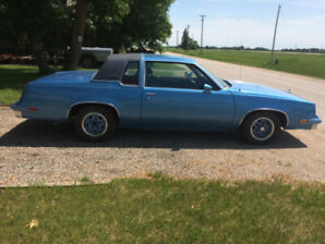 1983 oldsmobile cutlass supreme 2nd owner very nice body no rust
