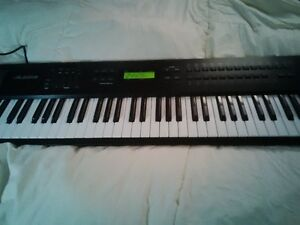 ALESIS QS 7.1  synthesizer w/2 sound cards