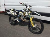 2015 HUSQVARNA FE 250 4 STROKE ENDURO, EXCELLENT, £4,575 OR FLEXIBLE FINANCE