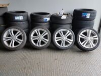 """18"""" Genuine Audi A3 S-Line Alloy Wheels for a Audi A3 MK2 and MK3 ETC"""