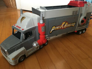 "POWER RANGERS Ninja Storm 20"" long Mobile HQ Truck"