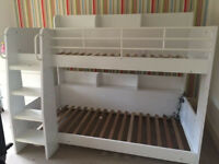 JULIAN BOWEN DOMINO bunk beds white, with DELIVERY