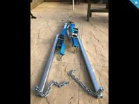 Wanted A frame for towing a car trailer workshop tools garage £75 tow bar
