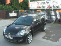 2008 FORD FIESTA ZETEC BLUE 1.2L FULL SERVICE HISTORY, 2 OWNERS