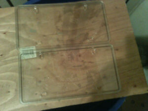 brand new licence plate holders 4 in total 4.00 each