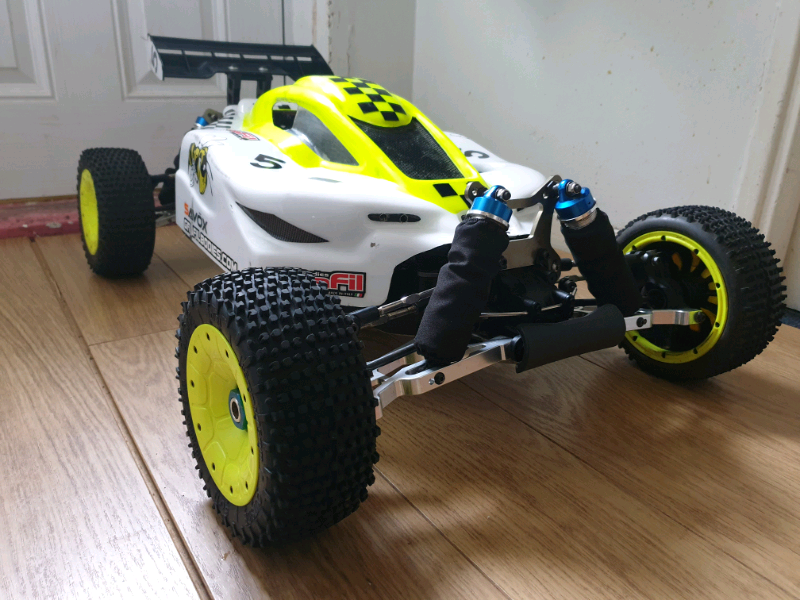 KM X2 Buggy  Zenoah 32cc  Upgraded 1-5 Scale  Alloy  Rc Car Buggy | in  Leicester, Leicestershire | Gumtree