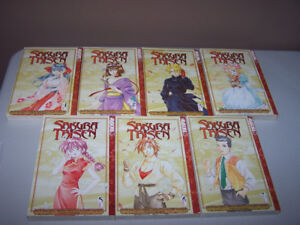 SAKURA TAISEN volume 1-7 set Manga *ENGLISH*