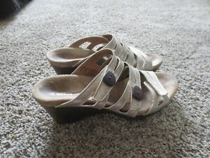 Silver Romika Sandals Size 39