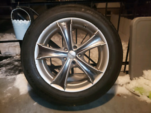 "18"" Mags / rims with tires."