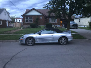 2003 Mitsubishi Eclipse Spyder GT STS Convertible