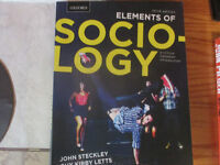 Elements of Sociology Third Edition