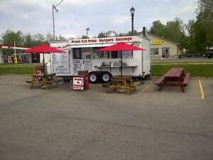 FRY TRAILER TRUCK CONCESSION CHIP FOOD WAGON