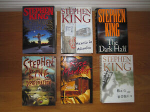STEPHEN KING HARDCOVER COLLECTION