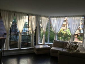 $1975 / 1-BR Fully Furnished (Burrard & Pacific)