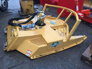 Diamond Heavy Duty Mower for Skid Steers
