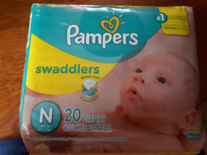 20 Pampers Diapers