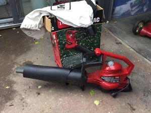 Toro leaf blower with bag