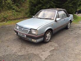 Vauxhall cavalier convertible