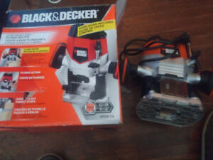 Black and decker 10amp variable speed plunge router