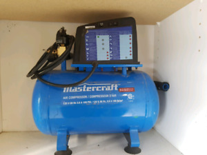 Mastercraft 3 gallon air compressor