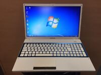 Samsung QuadCore HD Laptop, 750GB, 6GB Ram, HDMI, Win 7, office, VGood Condition, Boxed