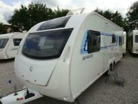 SPRITE QUATTRO FB 2013 MODEL 6 BERTH FIXED BED TOURING CARAVAN