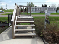 stairs/deck