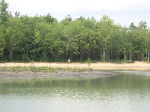 Greely waterfront half acres residential lot