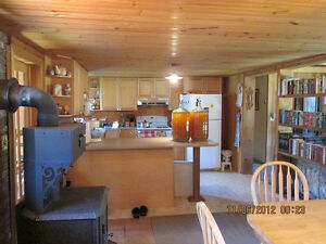Very Well Built 3+ Bedroom Bungalow in Quiet Country Setting.