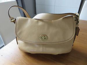 COACH sac à main tout en cuir authentique et neuf