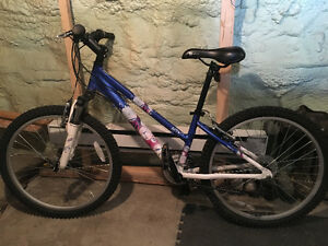 "Youth girl ""Super Sweet"" 24"" K2 bike"