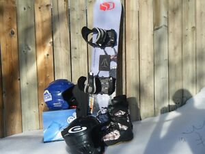 First board? Child/junior snowboard and accessories for sale!!