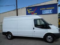 Ford Transit 2.2 350 Lwb Med Roof RWD 100 ps AIR CON Panel Van