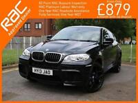 2013 BMW X6 M 4.4 xDrive Turbo 555 BHP 6 Speed Auto AWD 4x4 4WD Sunroof Sat Nav