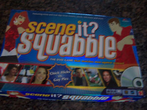 SCENE IT? SQUABBLE DVD BOARD GAME (NEW)