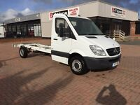 Own this van for £4.88 a day on finance 🚚👍🏻 August 2011 Mercedes sprinter 313cdi lwb chassis cab