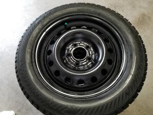 Honda Civic Gislave Nordfrost Winter Tires on Rims 5x114.3 lug