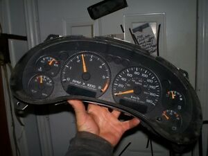 2002 S-10 dash cluster.   I part out S-10 trucks 1984 to 2002